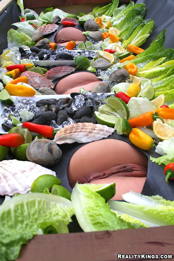 Секс в овощами